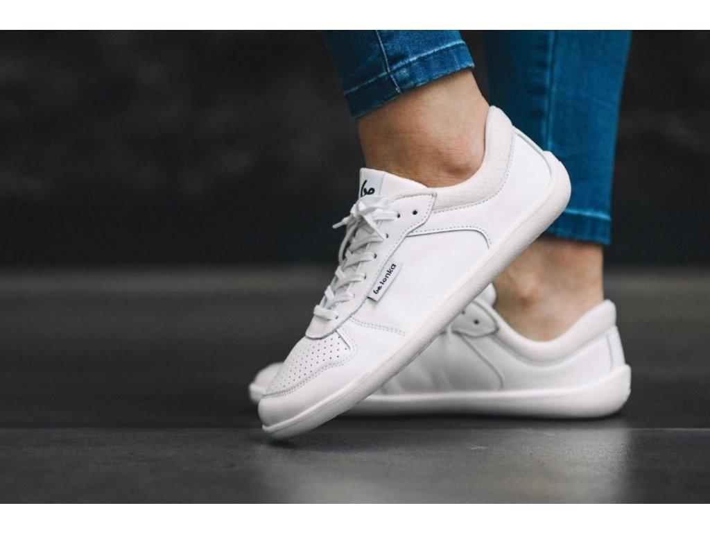 Barefoot tenisky Be Lenka Champ - White