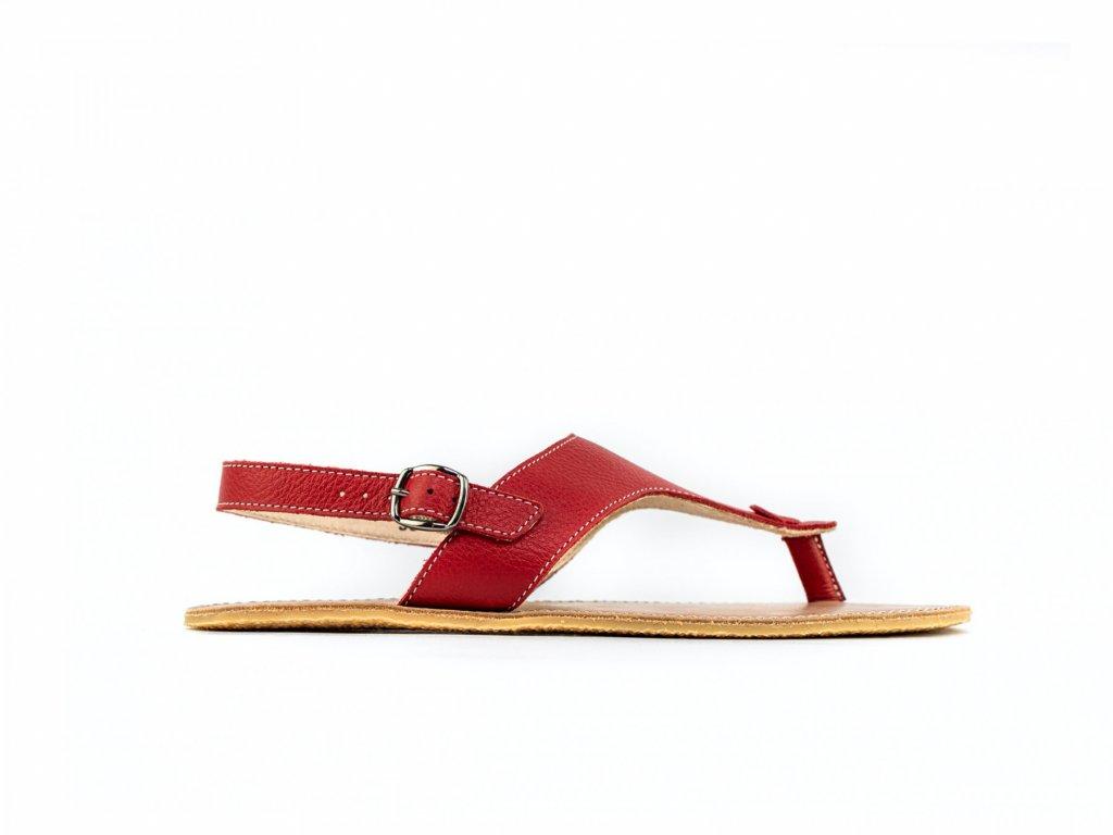 Barefoot sandály Be Lenka Promenade - Red