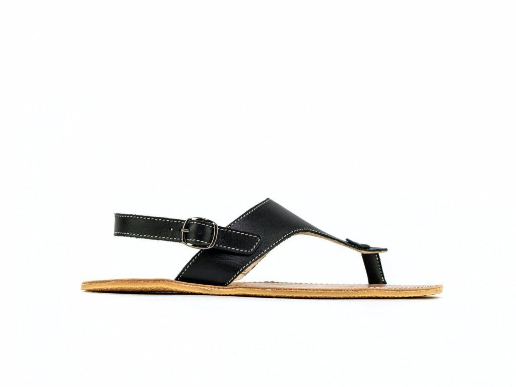 Barefoot sandály Be Lenka Promenade - Black