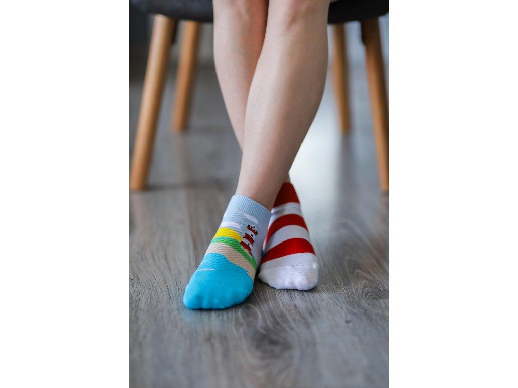 Barefoot ponožky krátké - Maják