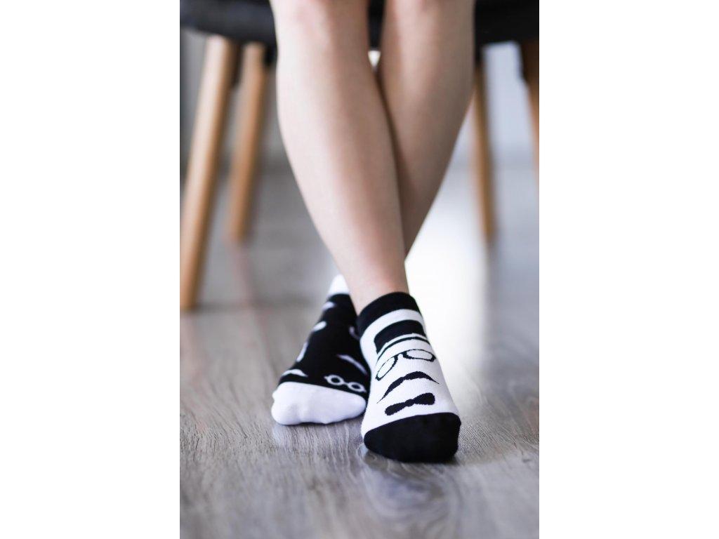 Barefoot ponožky krátké - Gentleman
