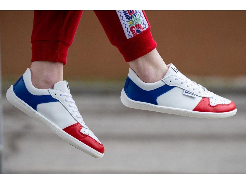 Barefoot tenisky Be Lenka Champ - Patriot - Red, White & Blue