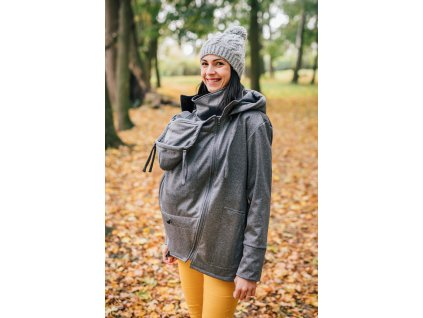 Softshellová bunda Be Lenka - Pebble Grey