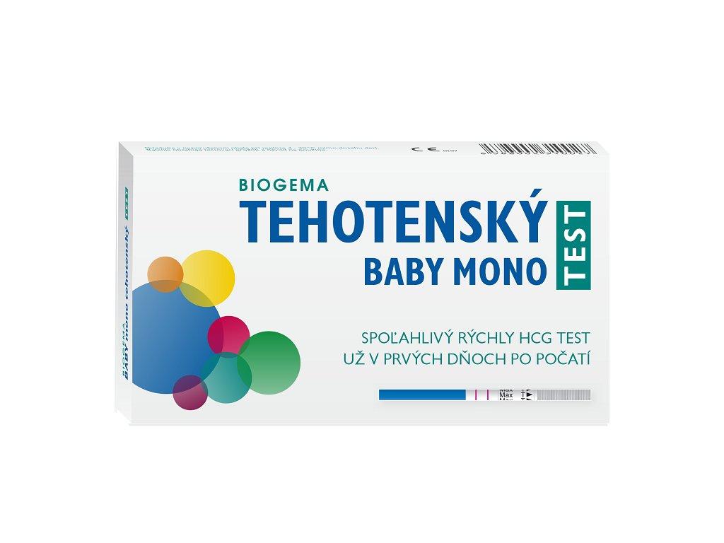 Tehotensky test Mono