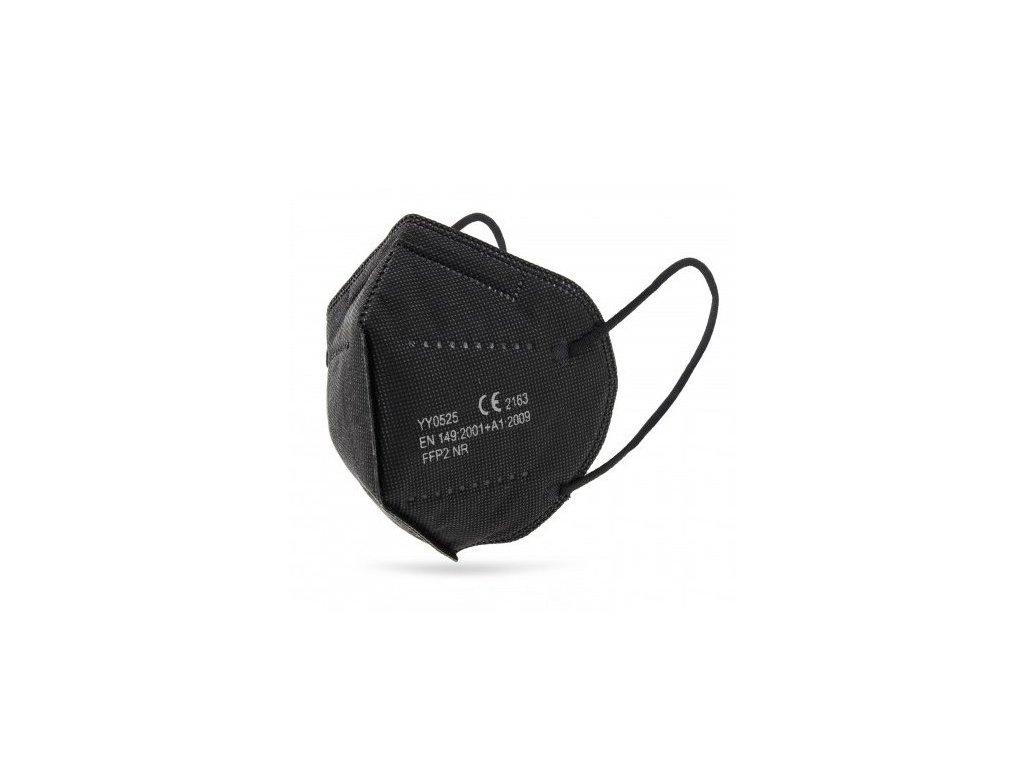 cierny respirator ffp2