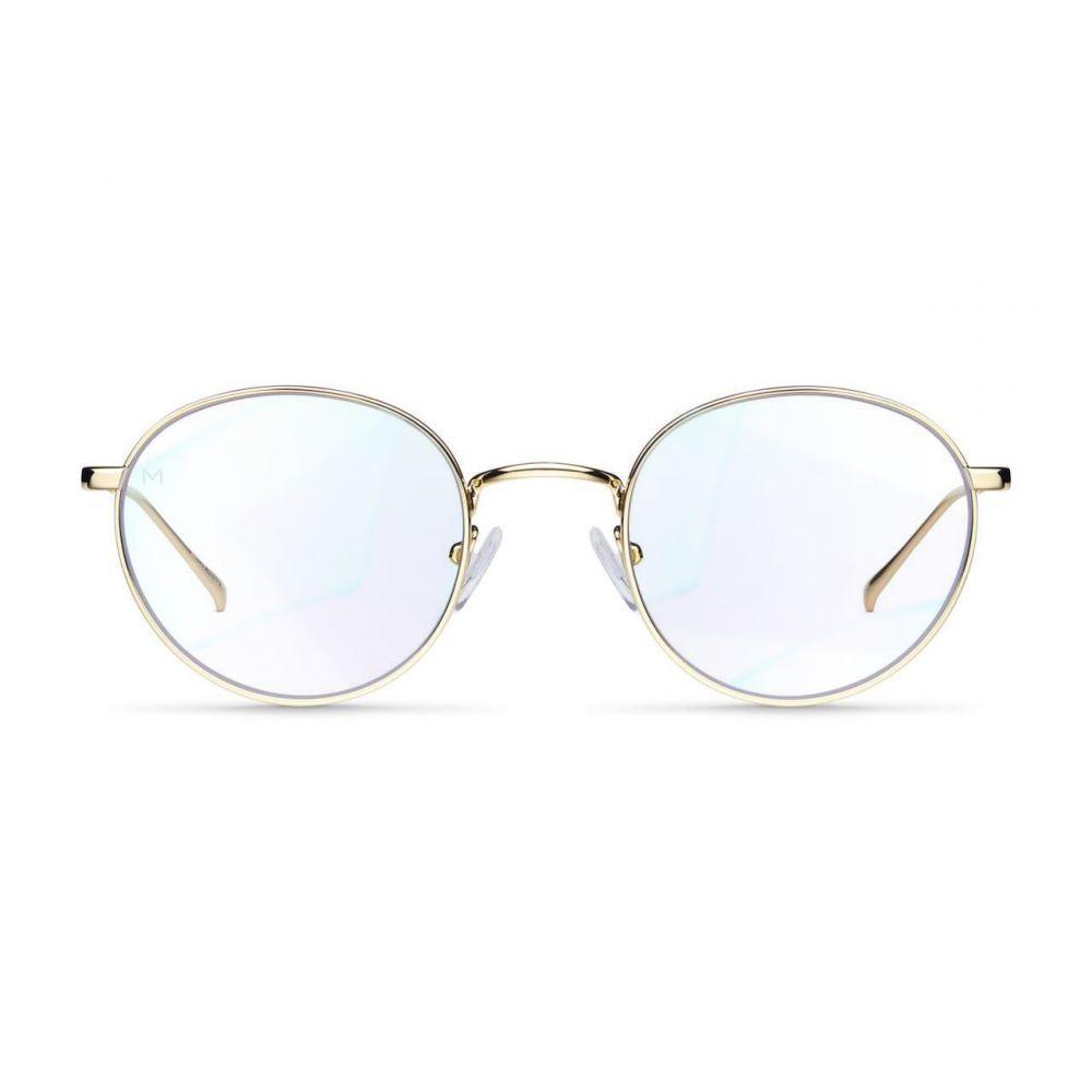 MELLER YUDA GOLD okuliare na počítač s filtrom blokujúcim modré svetlo
