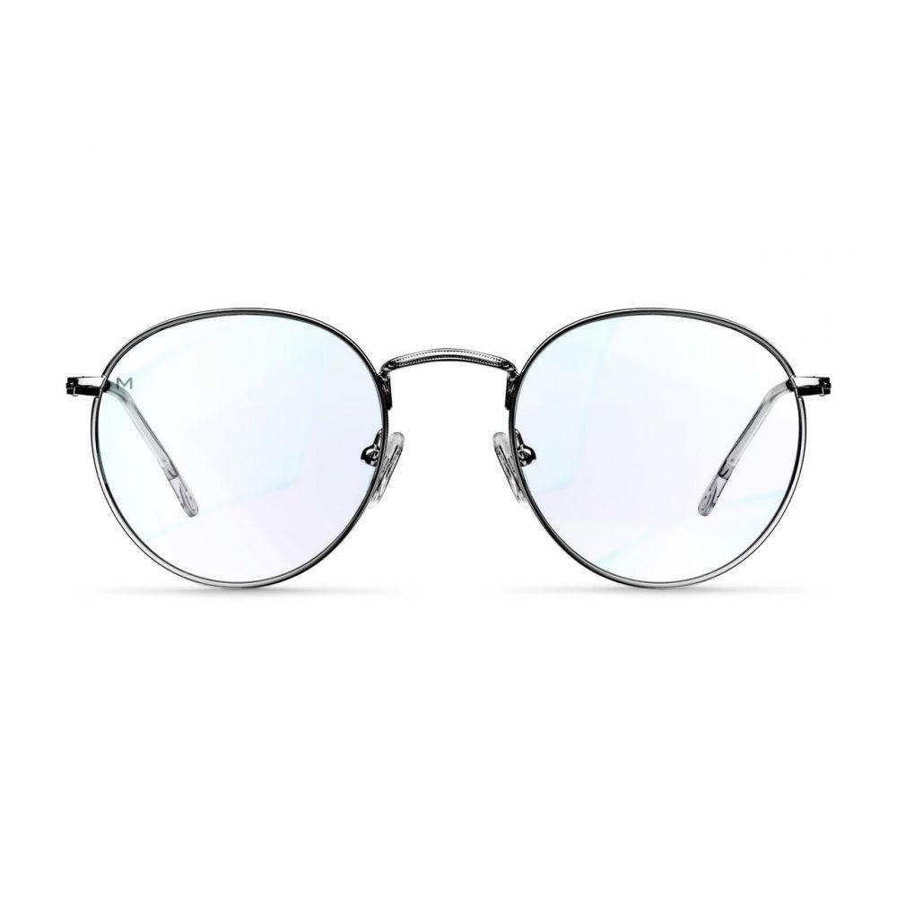 MELLER YSTER BLACK okuliare na počítač s filtrom blokujúcim modré svetlo
