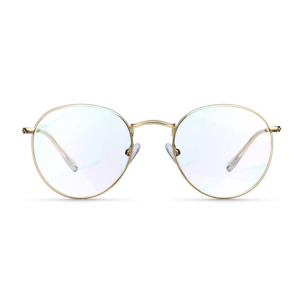 MELLER YSTER GOLD okuliare na počítač s filtrom blokujúcim modré svetlo
