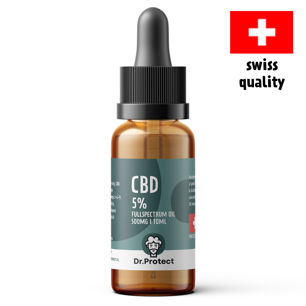 Dr.Protect CBD 5% Fullspectrum Oil 500mg 10ml