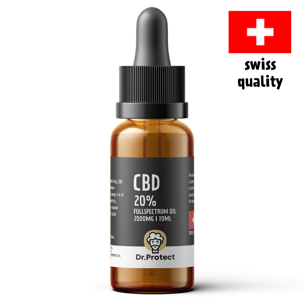 Dr.Protect CBD 20% Fullspectrum Oil 2000mg 10ml