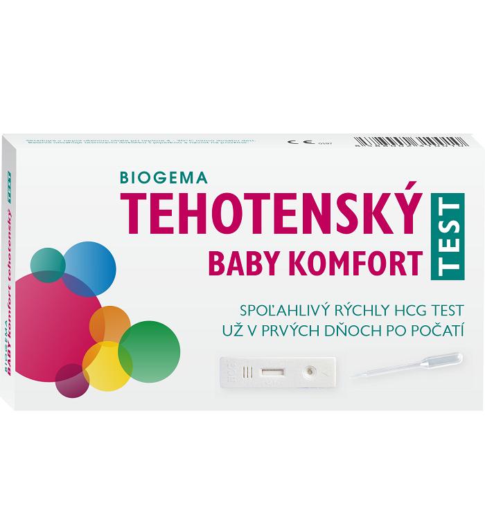 BIOGEMA Tehotenský test Baby Komfort