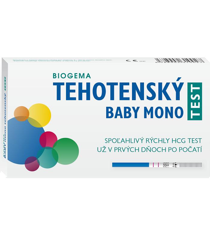BIOGEMA Tehotenský test MONO