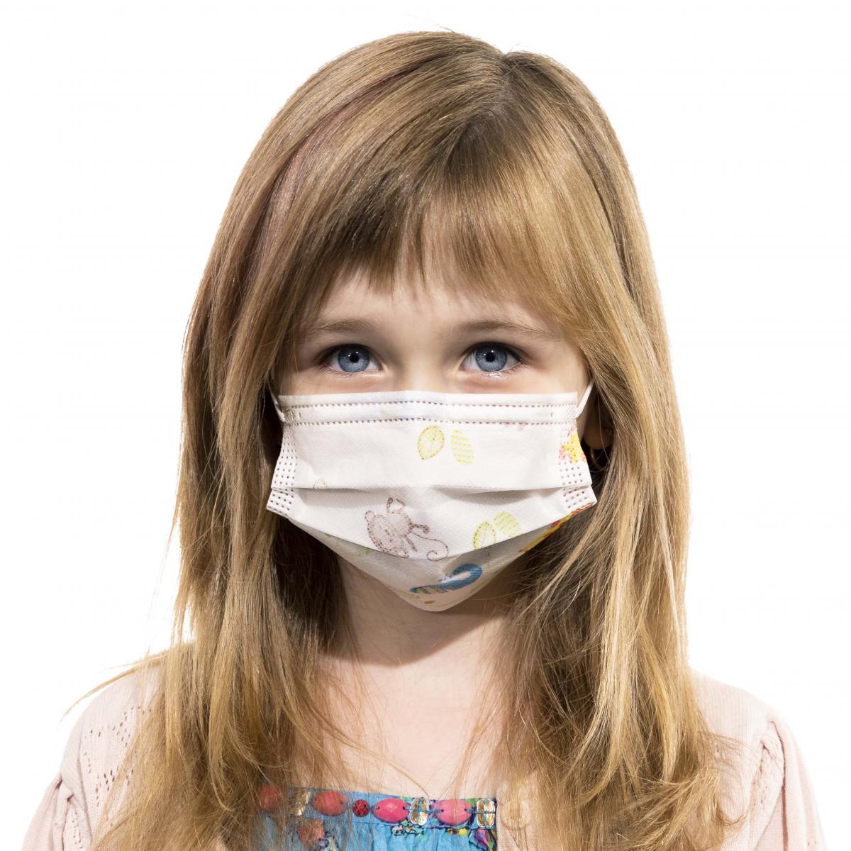 Detské ochranné rúško na ústa certifikované – 50 ks