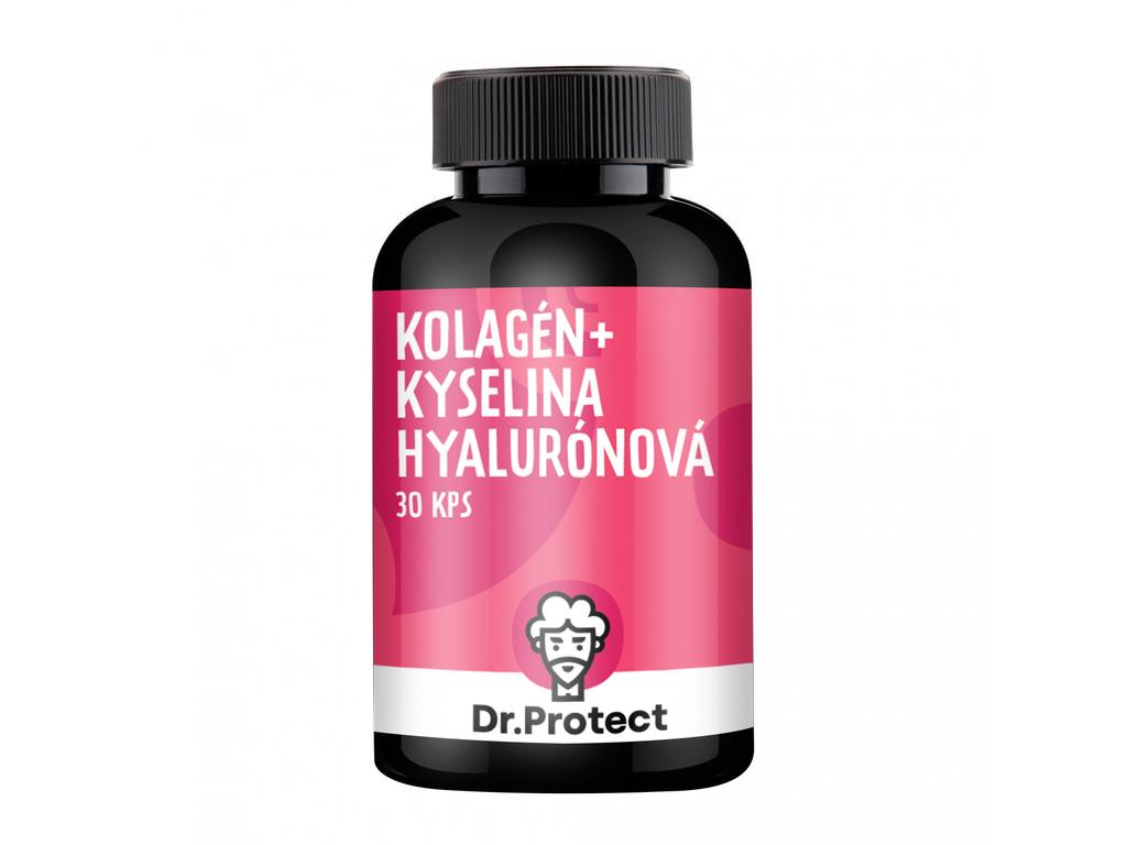 Dr.Protect Kolagén + Kyselina Hyalurónová 30 kps