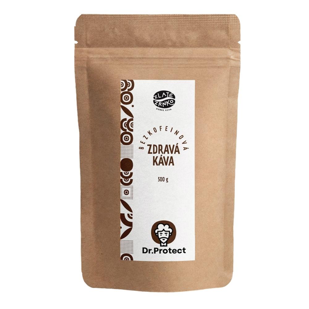 Dr.Protect Zdravá káva bez kofeínu 500g