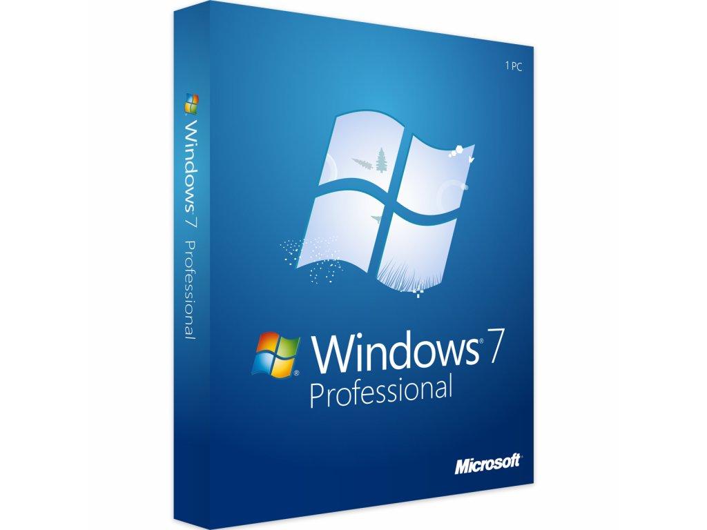 Druhotná licence Windows 7 Profesional