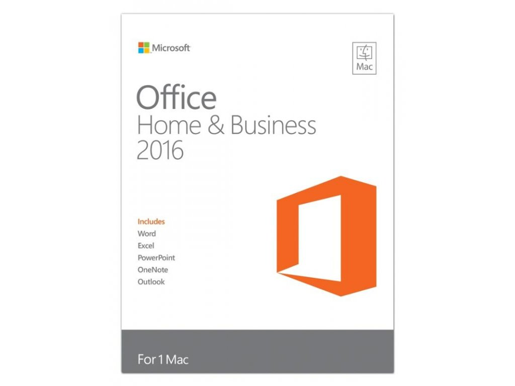 Office 2016 Home and Business - MacOS