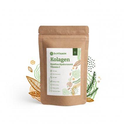 Kolagén+Vitamin C+Kyselina hyaluronová