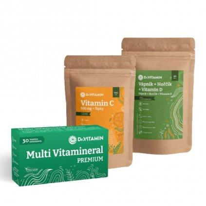 Kombinace vitaminů pro muže