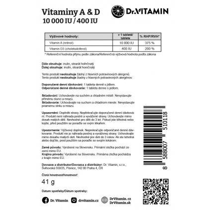 Vitaminy A&D 10000/400 IU