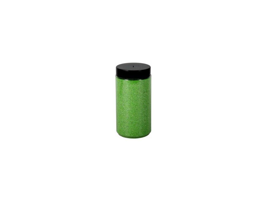 Písek Briliant dekorační 600g - sv. zelený