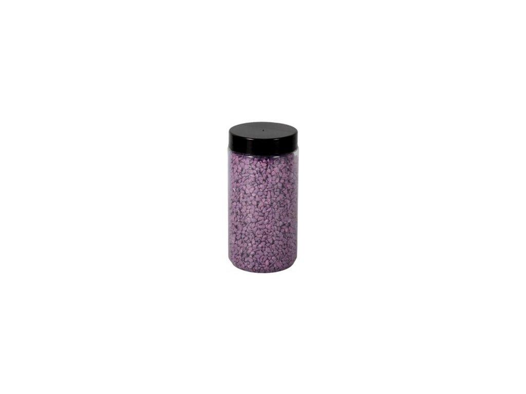 Drť Briliant dekorační 2-3mm 600g - sv.fialová