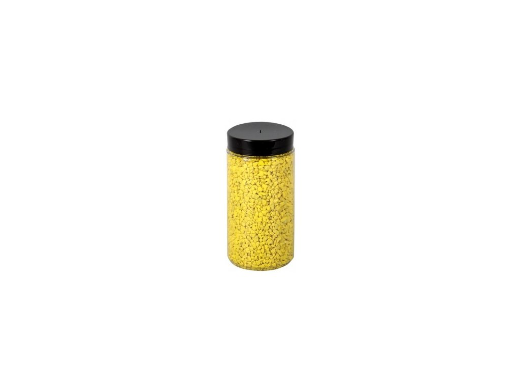 Drť Briliant dekorační 2-3mm 600g - žlutá