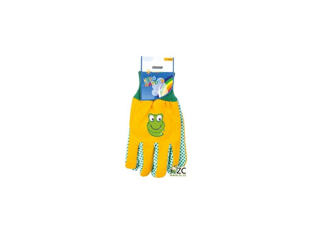 42692 detske rukavice zlute stocker