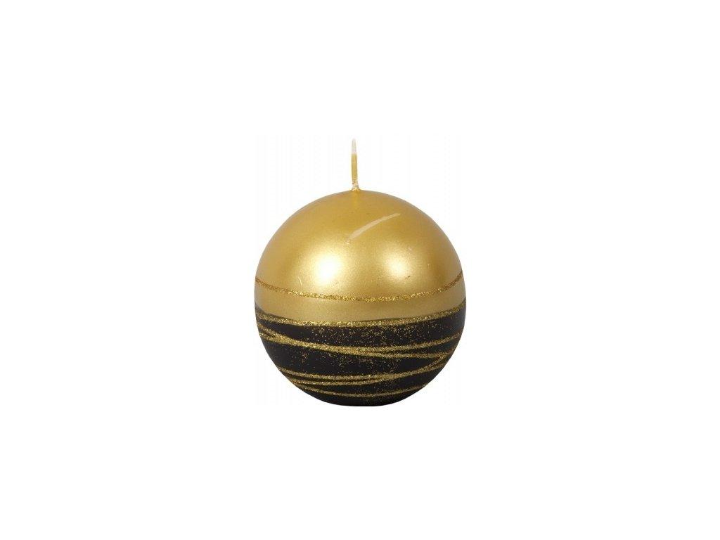56600 svicka lumina gold koule cerna zlata