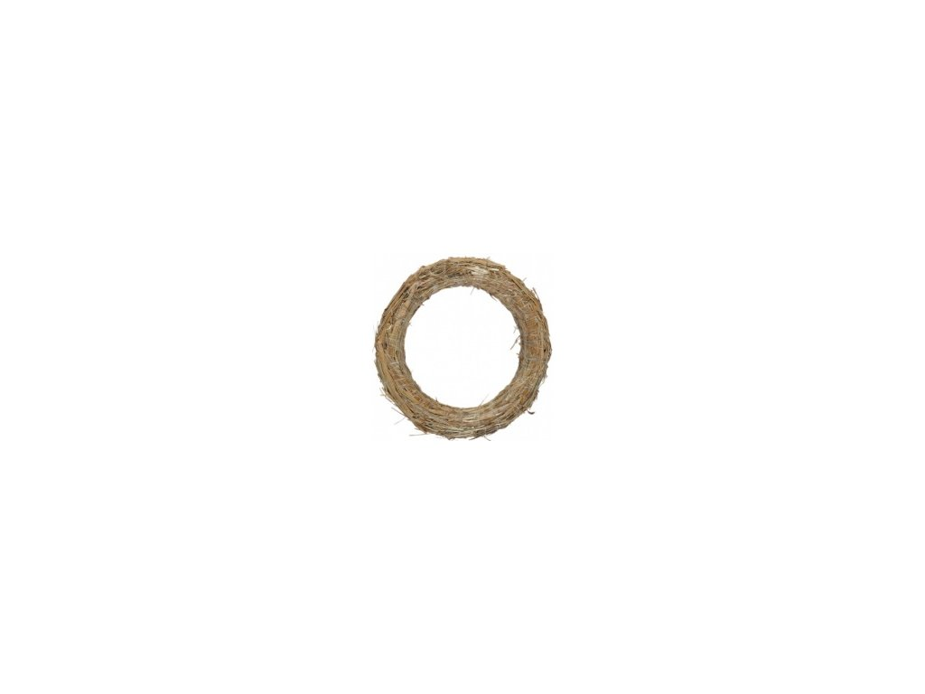 Kroužek slaměný - 25cm