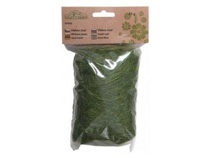 Sisálové vlákno 25g - tmavě zelené