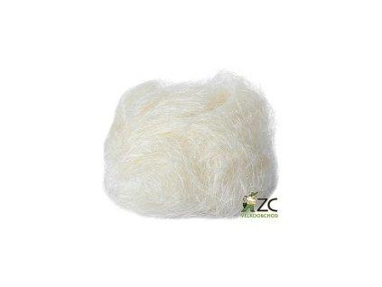 Sisálové vlákno 30g - přírodní (bílé)