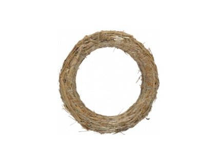 Kroužek slaměný - 35cm