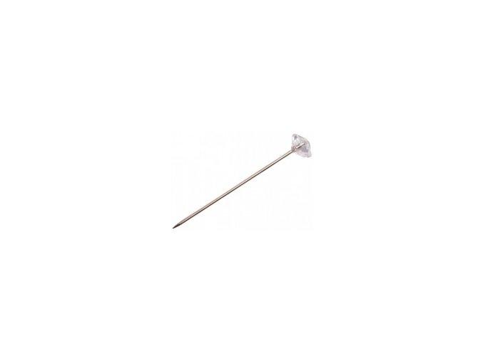 Špendlík Diamond dekorační 4cm (100ks)