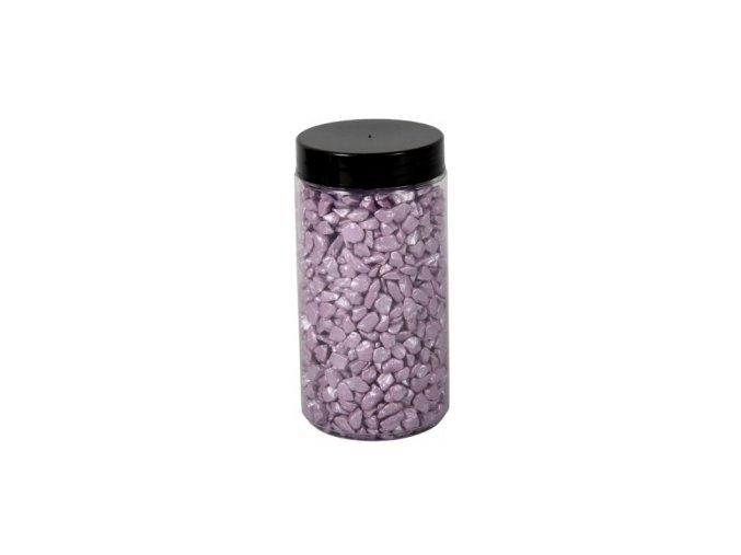 Drť Briliant dekorační 5-8mm 600g - sv. fialová