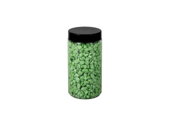 Drť Briliant dekorační 5-8mm 600g - sv. zelená