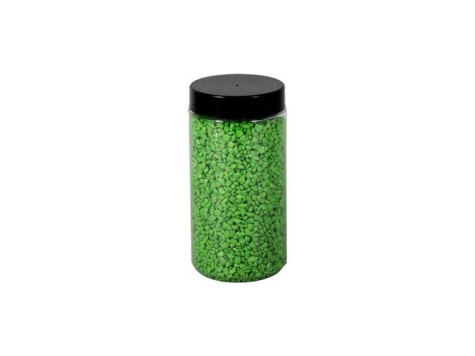 Drť Briliant dekorační 2-3mm 600g - sv.zelená