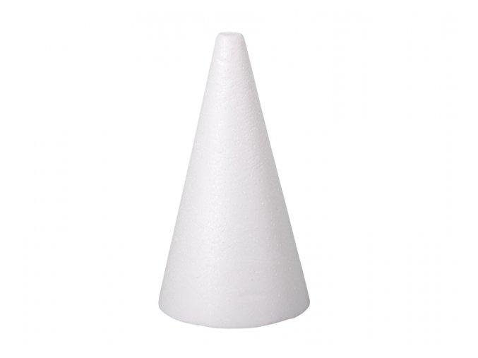 Kužel polystyren - 26 cm