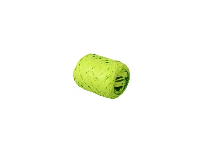 Stuha Rafia 12,5mm x 20m - zelená