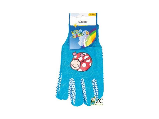 42686 detske rukavice modre stocker