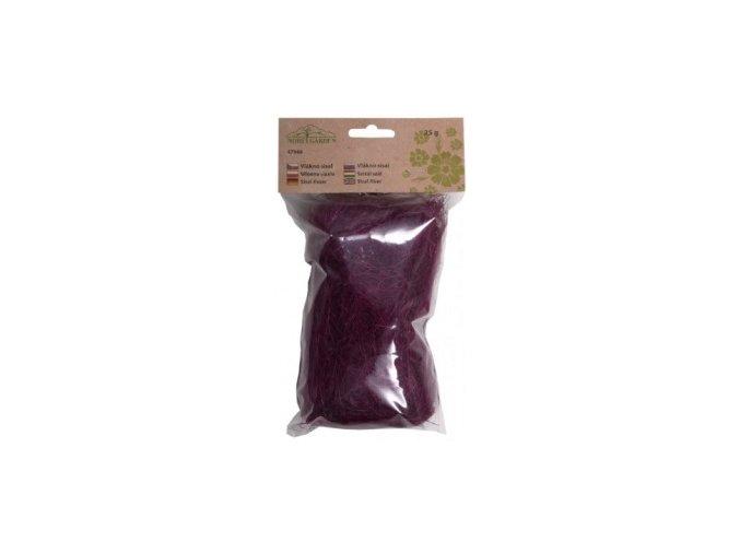Sisálové vlákno 25g - fialovo-růžové