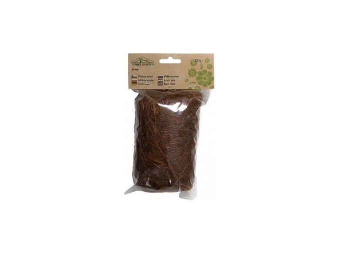 Sisálové vlákno 25g - hnědé