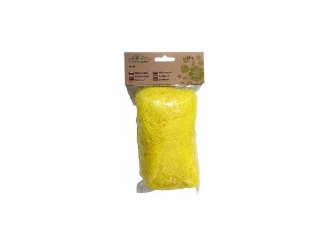 Sisálové vlákno 25g - žluté