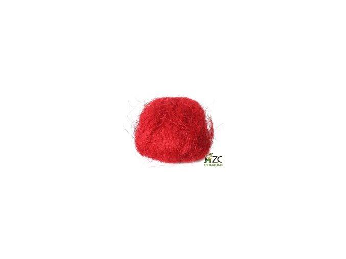 Sisálové vlákno 30g - červené