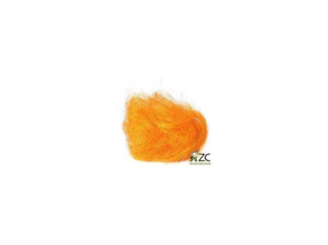 Sisálové vlákno 30g - oranžové