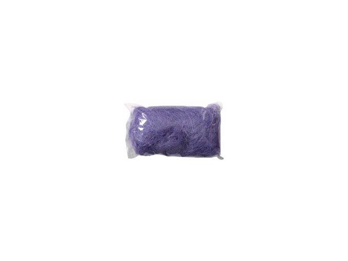 Sisálové vlákno 50g - světle fialové