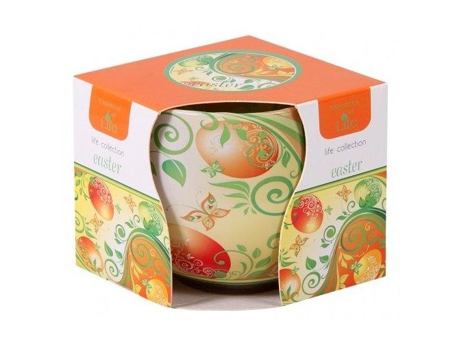 57116 svicka vonna ve skle velikonocni vajicko oranzove