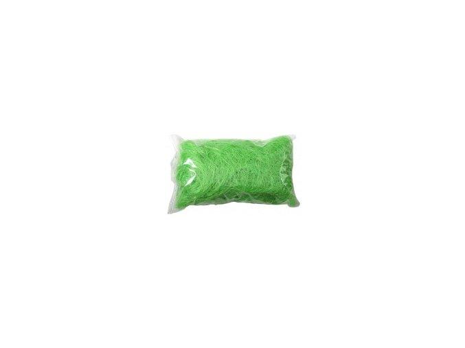 Sisálové vlákno 50g - světle zelené