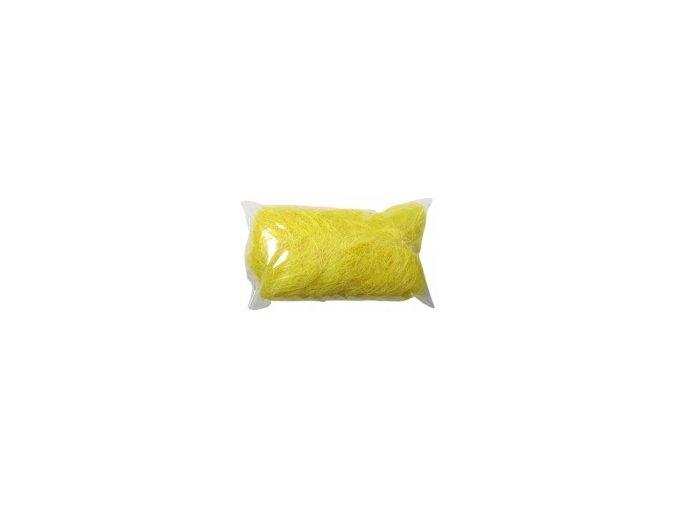 Sisálové vlákno 50g - žluté