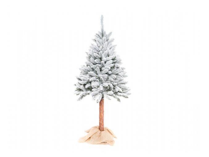 Stromek vánoční SMRK umělý zasněžený + stojan + kmen 180cm